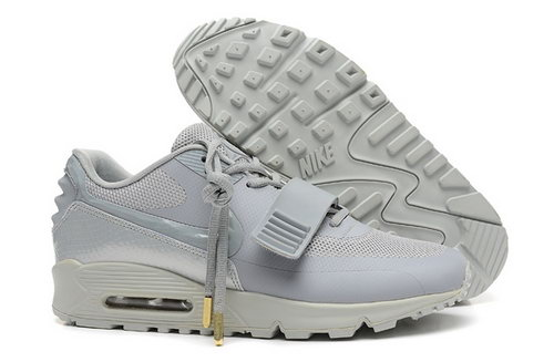 2014 Nike Air Yeezy Ii 2 Sp Max 90 The Devil Series West Womens Shoes All Light Gray Greece