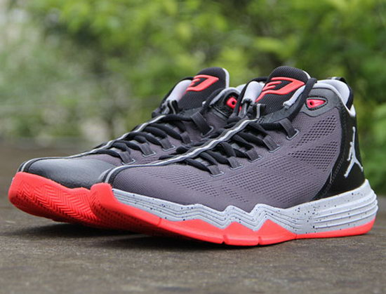 Air Jordan Cp3 Ix Grey Red Low Cost