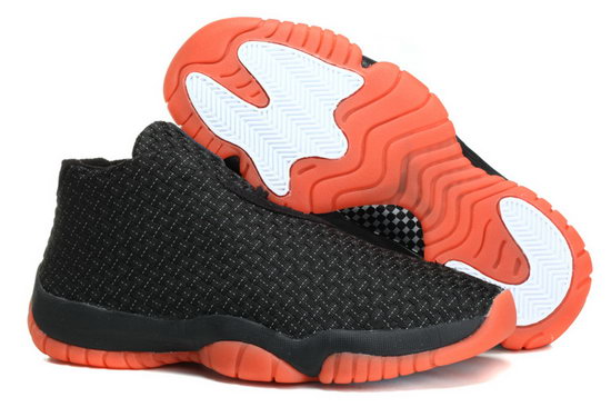 Air Jordan Future Glow Black Orange Weaving Ireland