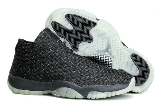 Air Jordan Future Glow Black White Weaving On Sale
