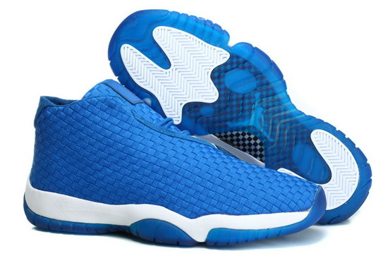 Air Jordan Future Glow Blue Weaving Greece