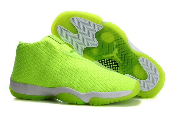 Air Jordan Future Glow Fluorescent Green Weaving Reduced