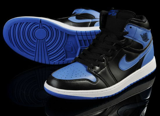 Air Jordan Retro 1 Black Blue Usa