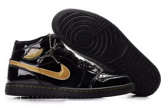 Air Jordan Retro 1 Black Gold Mirror Australia