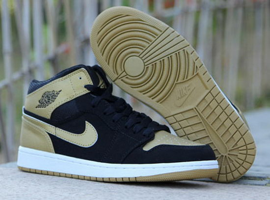 Air Jordan Retro 1 Black Gold Clearance