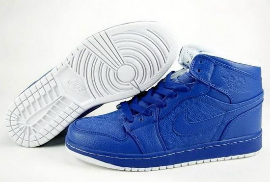 Air Jordan Retro 1 Blue Greece