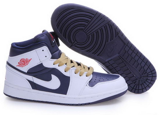 Air Jordan Retro 1 Dark Purple White Online