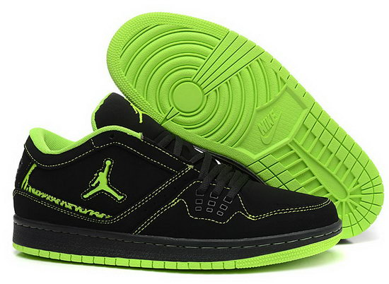 Air Jordan Retro 1 Low Black Green Online Shop