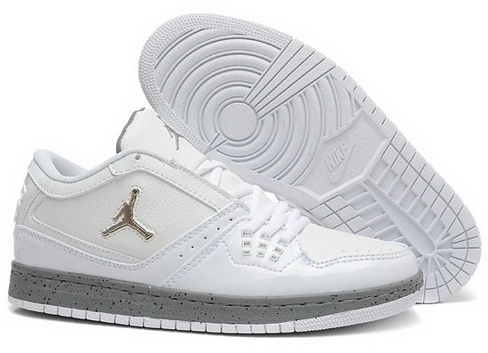 Air Jordan Retro 1 Low White Grey Uk