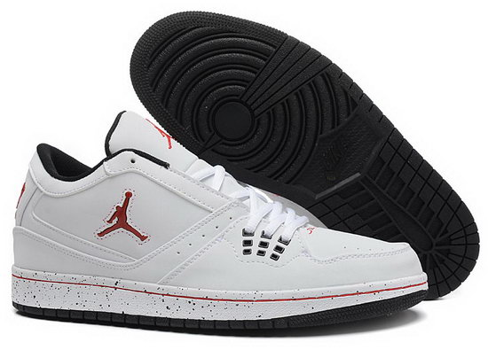 Air Jordan Retro 1 Low White Red Logo Poland