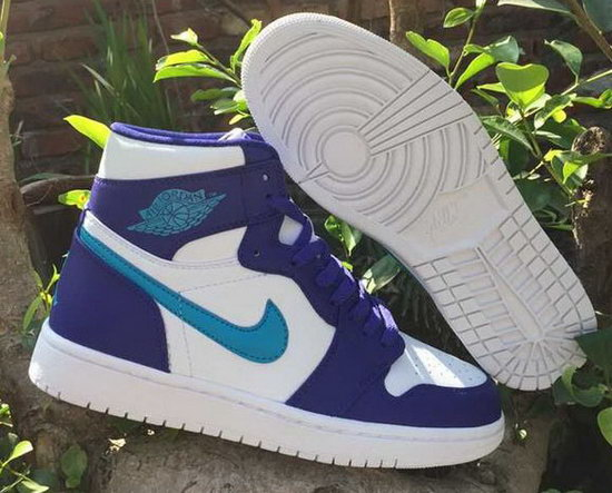 Air Jordan Retro 1 Purple White Jade Online Store