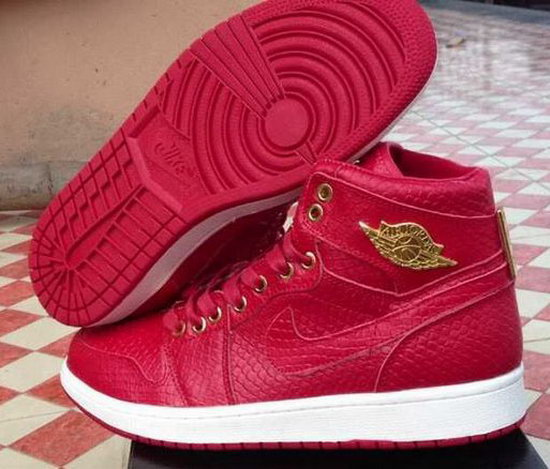 Air Jordan Retro 1 Red Alligator Outlet Store