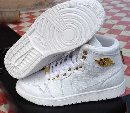 Air Jordan Retro 1 White Alligator Netherlands