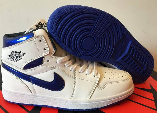 Air Jordan Retro 1 White Blue Discount Code
