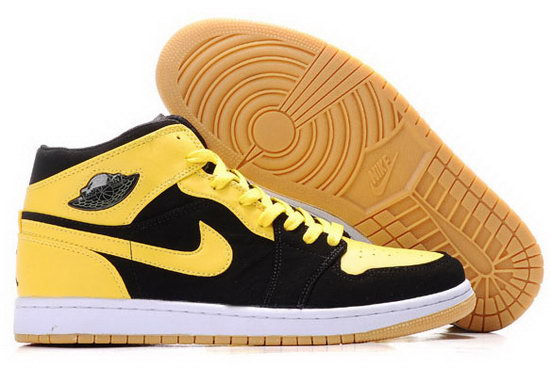 Air Jordan Retro 1 Yellow Black China