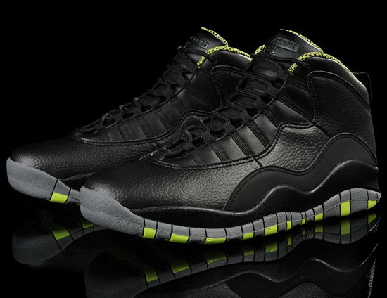 Air Jordan Retro 10 Black Green Promo Code