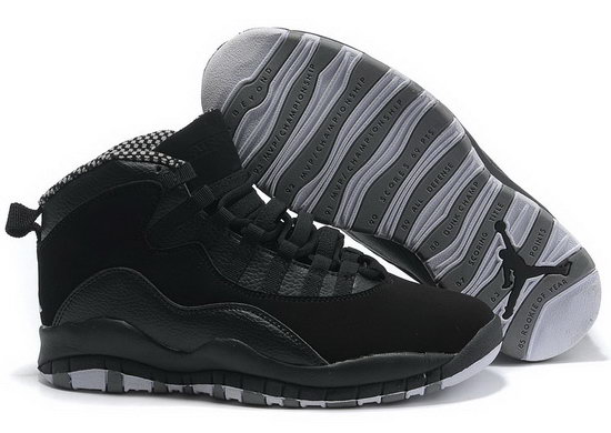Air Jordan Retro 10 Black Grey Australia