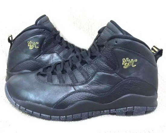 Air Jordan Retro 10 Black Nyc Clearance
