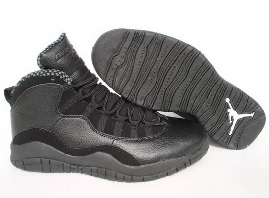 Air Jordan Retro 10 Black Closeout