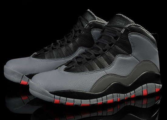 Air Jordan Retro 10 Grey Black Red Netherlands