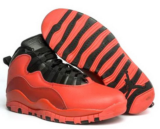 Air Jordan Retro 10 Red Black Low Cost
