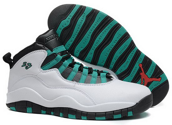 Air Jordan Retro 10 White Black Green Best Price