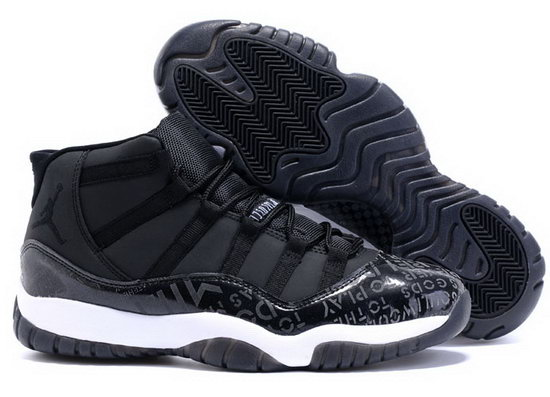 Air Jordan Retro 11 Black Charitable Italy