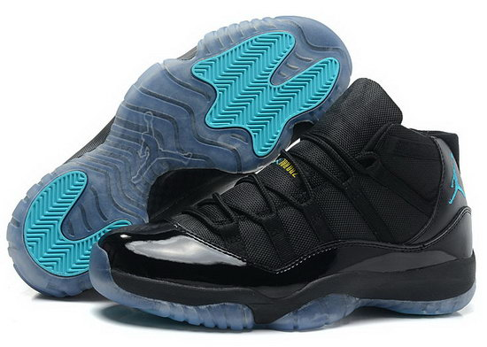Air Jordan Retro 11 Black Jade Wholesale