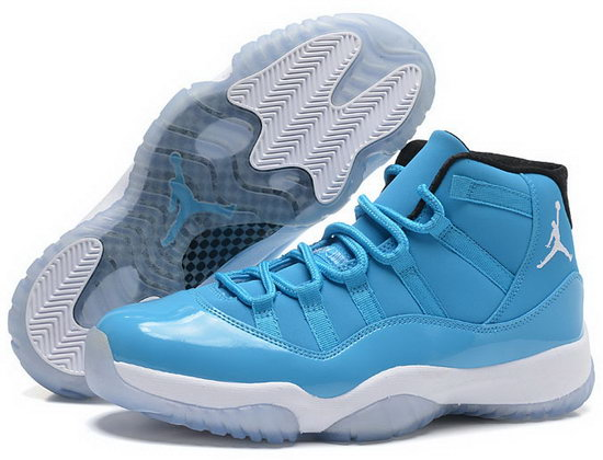 Air Jordan Retro 11 Light Blue White Logo China