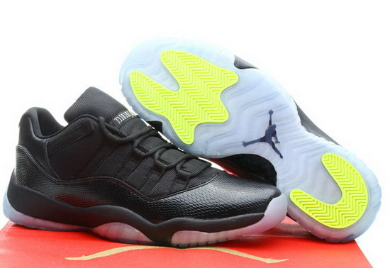 Air Jordan Retro 11 Low Black Yellow Germany