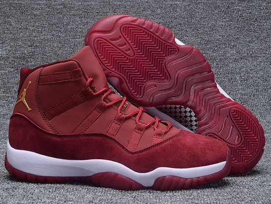 Air Jordan Retro 11 Wine Velvet On Sale
