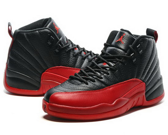 Air Jordan Retro 12 Black Red Online Shop