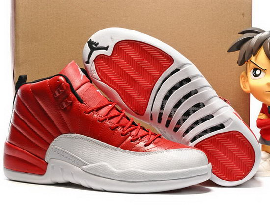 Air Jordan Retro 12 Red White Switzerland