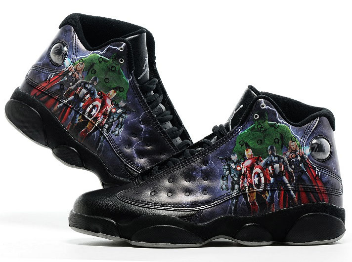 Air Jordan Retro 13 Black Avengers Coupon
