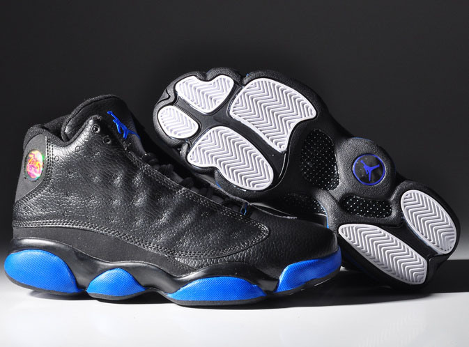 Air Jordan Retro 13 Black Blue White Sweden