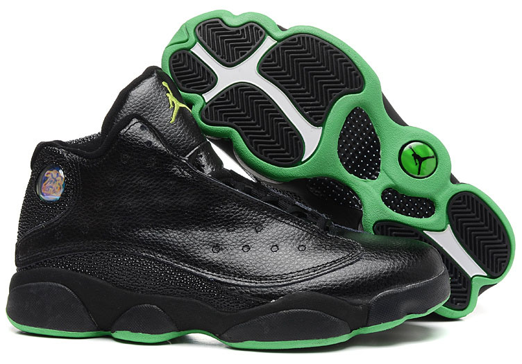 Air Jordan Retro 13 Black Green Coupon Code