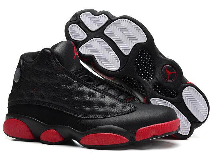 Air Jordan Retro 13 Black Red 2 For Sale