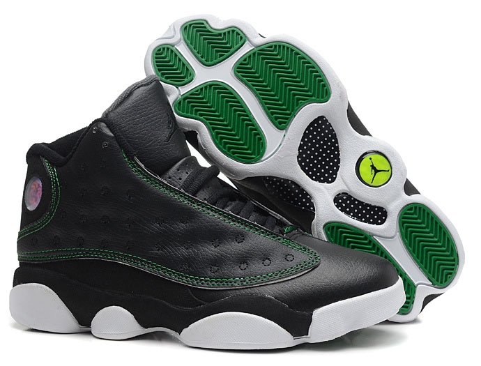 Air Jordan Retro 13 Black White Green Portugal