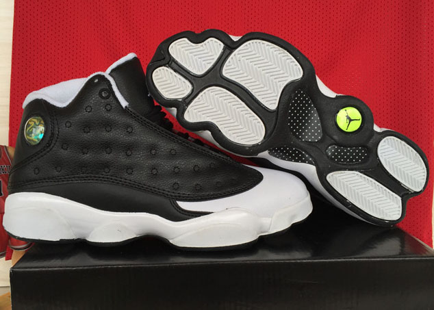 Air Jordan Retro 13 Black White Toes Japan