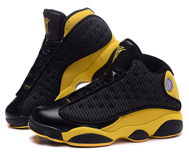 Air Jordan Retro 13 Black Yellow Promo Code