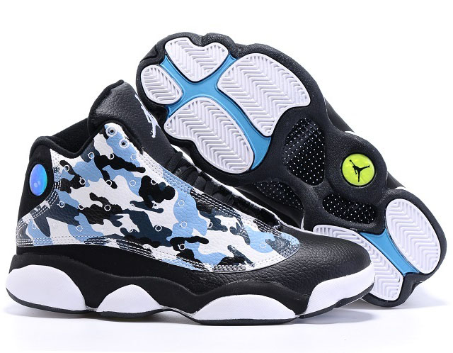 Air Jordan Retro 13 Colorful Black Low Cost
