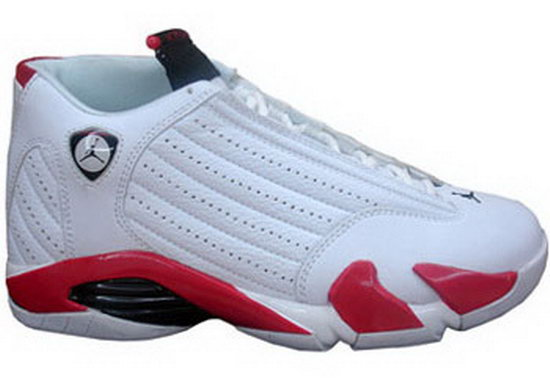 Air Jordan Retro 14 White Red Australia