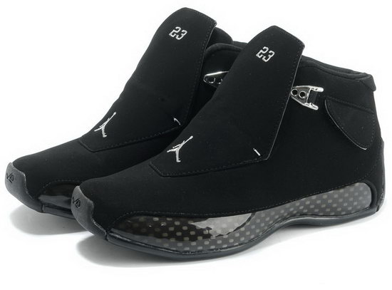 Air Jordan Retro 18 All Black Ireland