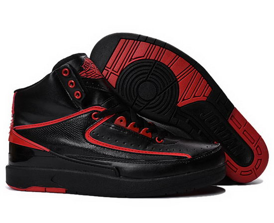 Air Jordan Retro 2 Black Red Online Shop