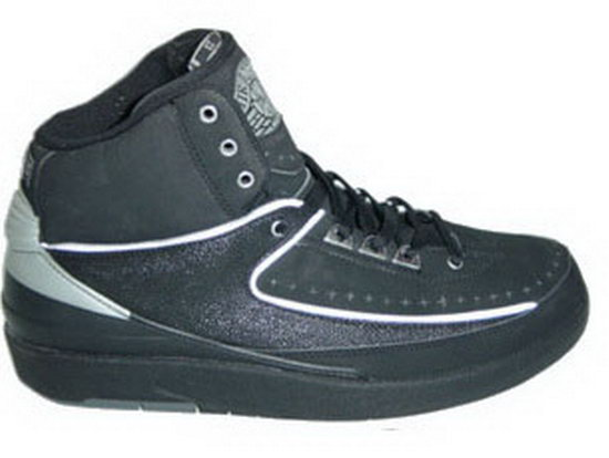 Air Jordan Retro 2 Black White Spain