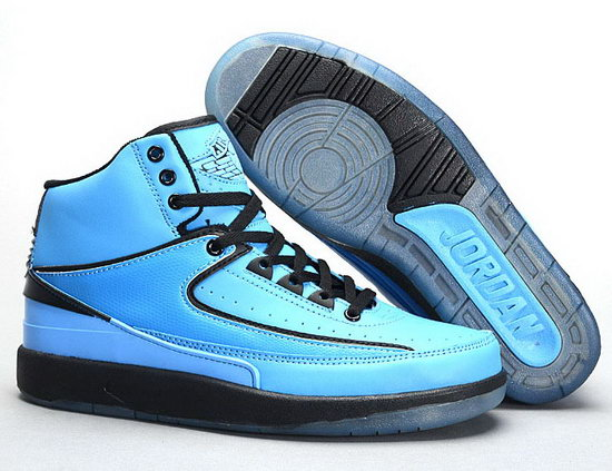 Air Jordan Retro 2 Blue Black Germany