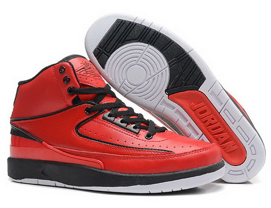 Air Jordan Retro 2 Red Black Inexpensive