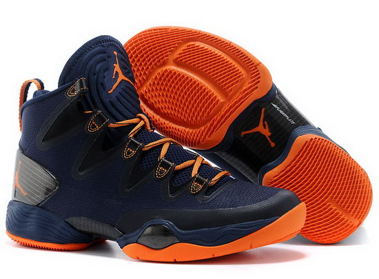 Air Jordan Retro 28 Dark Blue Orange Coupon Code
