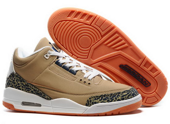 Air Jordan Retro 3 Brown Leopard Greece