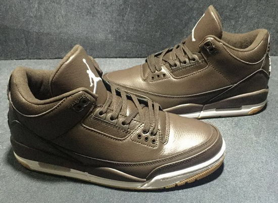 Air Jordan Retro 3 Coffee France
